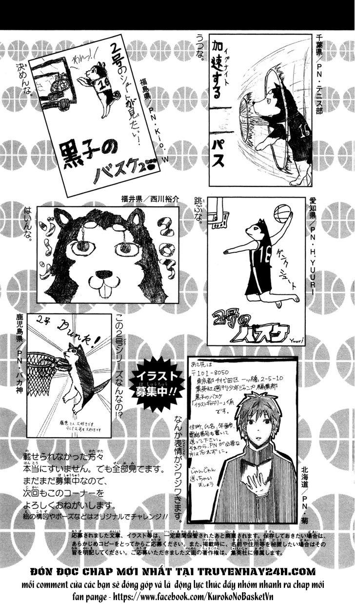 Kuroko No Basket bonus trang 11