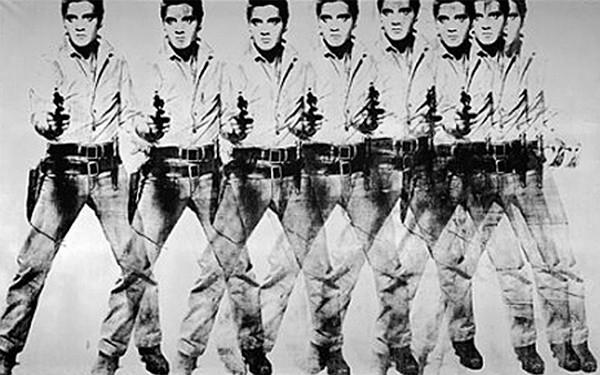 Andy Warhol - Oito Elvis