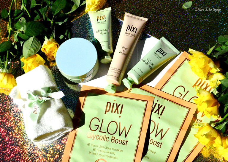 Pixi Beauty - DetoxifEYE, GLOW Glycolic Boost i ściereczka do twarzy recenzja