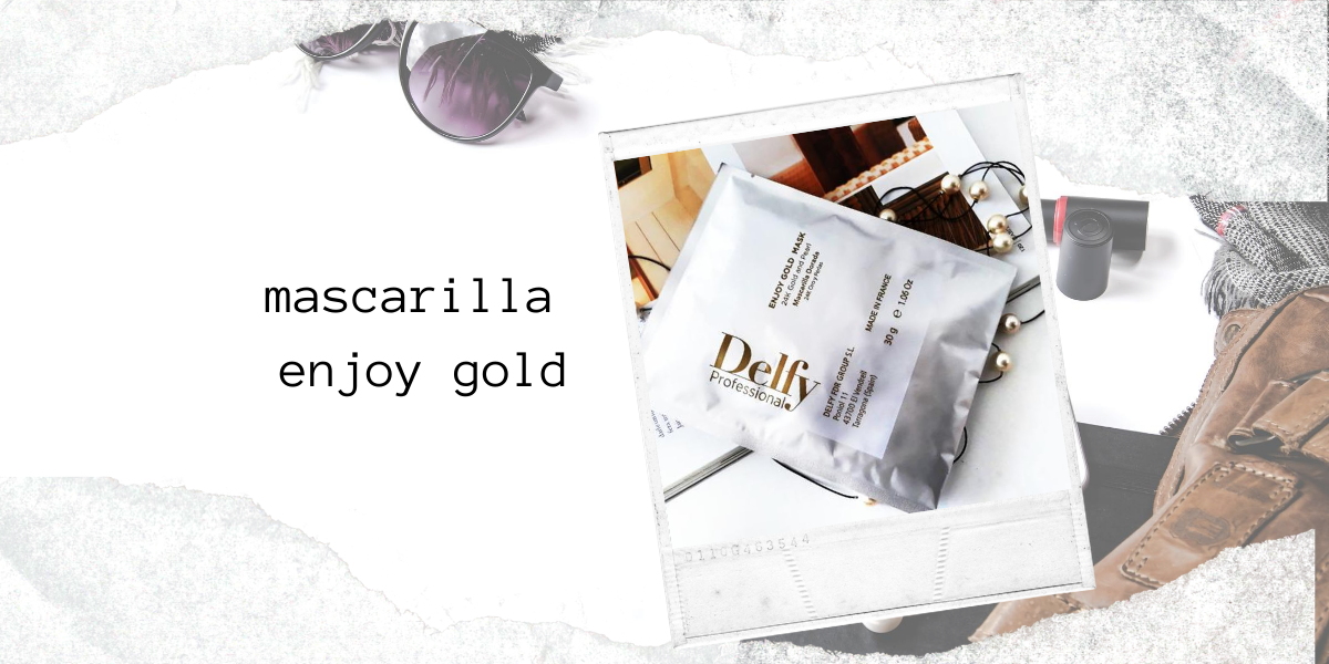 "MASCARILLA ""ENJOY GOLD"""