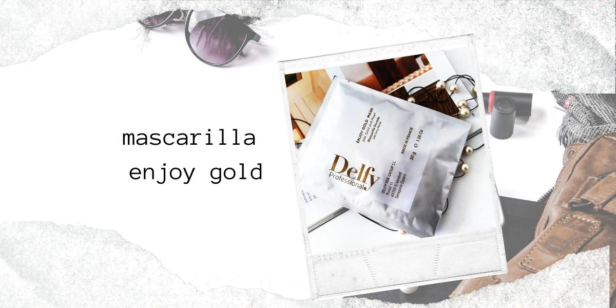 "MASCARILLA ""ENJOY GOLD"""