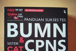 PANDUAN SUKSES TES BUMN & CPNS SISTEM CAT 2019-2020 MODUL DAN BANK SOAL TERLENGKAP