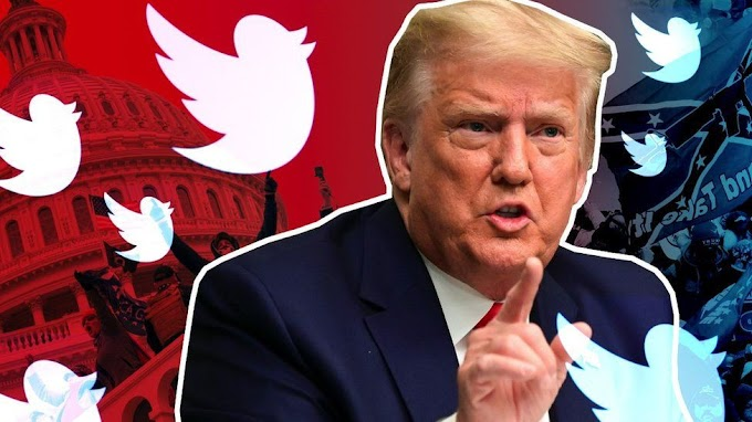 Twitter suspends account sharing Donald Trump's posts from his new website