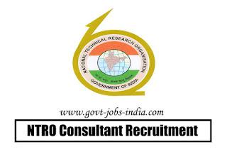 NTRO Consultant Recruitment 2020