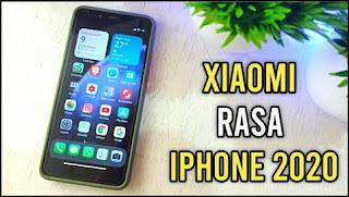 Cara merubah tampilan hp Xiaomi Jadi iPhone Terbaru 2020 Tanpa Aplikasi