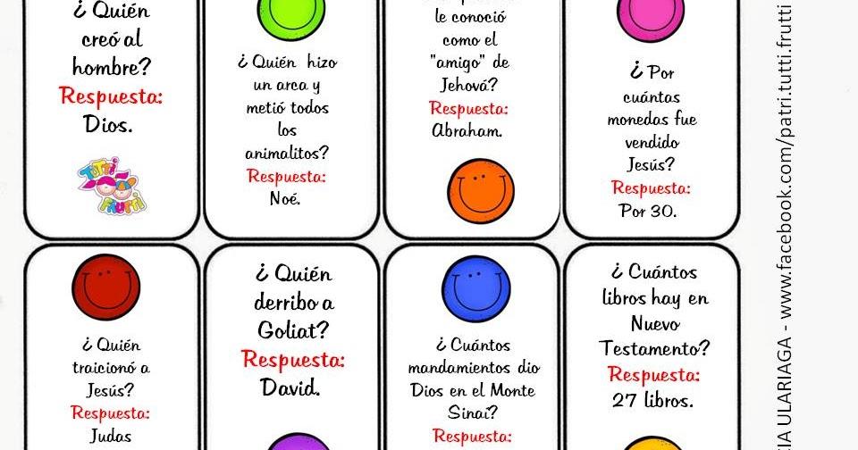 Juegos De Preguntas Y Respuestas Para Ninos En Espanol Ninos Creativos