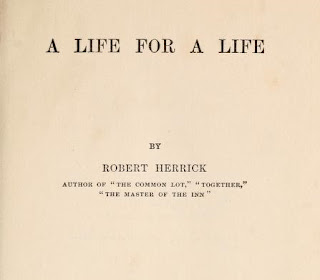 A life for a life (1910) by Robert Herrick
