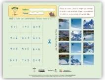 Ficha interactiva: Desarrollo del cálculo mental, en infantil ABN 01.
