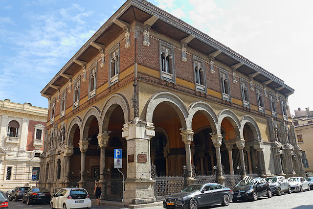 Casa del Mercante, Mantua