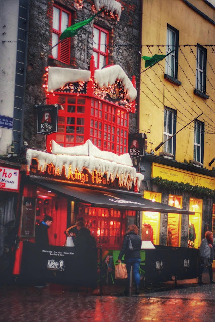 Galway city at Christmas time