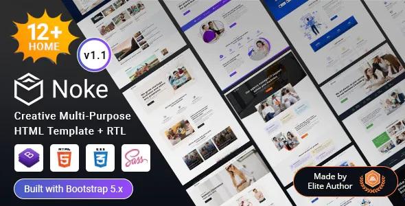 Best Creative Multipurpose HTML Template