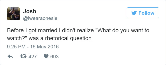 15+ Hilarious Tweets About Married Life That Perfectly Sum Up Marriage