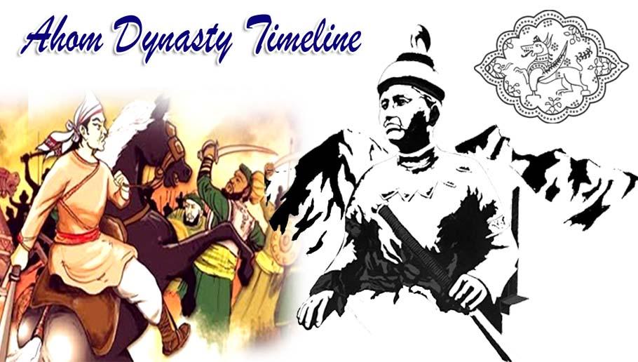 Ahom Dynasty Timeline