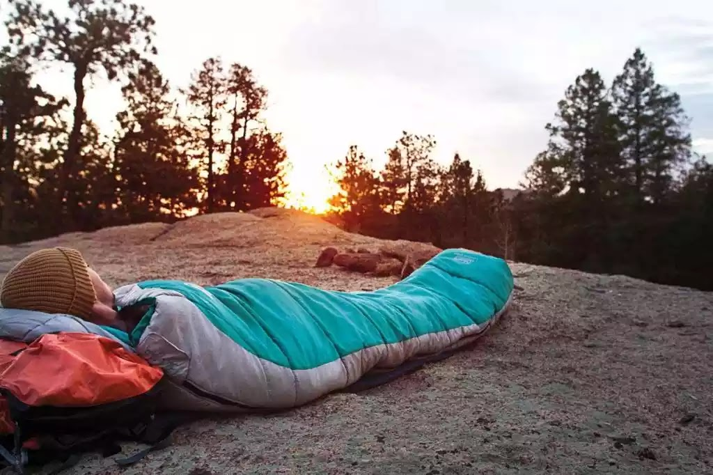 mummy-slaapzak-outdoor