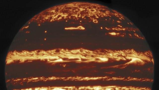 Des images inédites de Jupiter ont été capturées par les astronomes d'un observatoire hawaïen