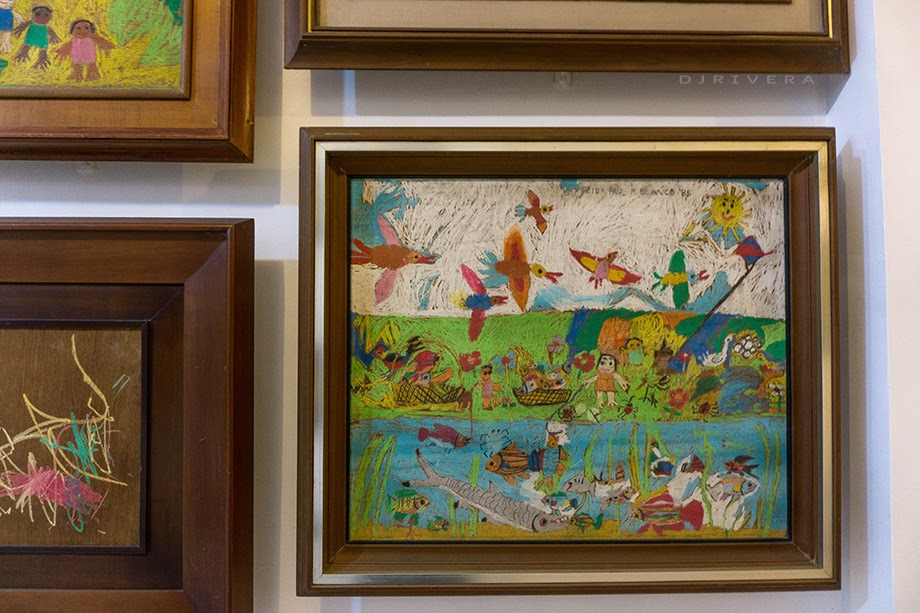 Peter Paul Blanco's childhood artworks