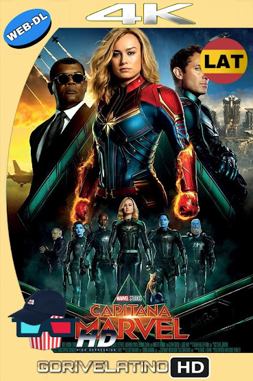 Capitana Marvel (2019) WEB-DL 4K HDR Latino-Ingles MKV