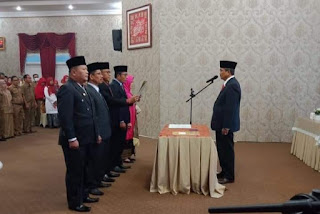Syaiful, ST, MT Dilantik Menjadi Kepala Barenlitbang Kabupaten Solok