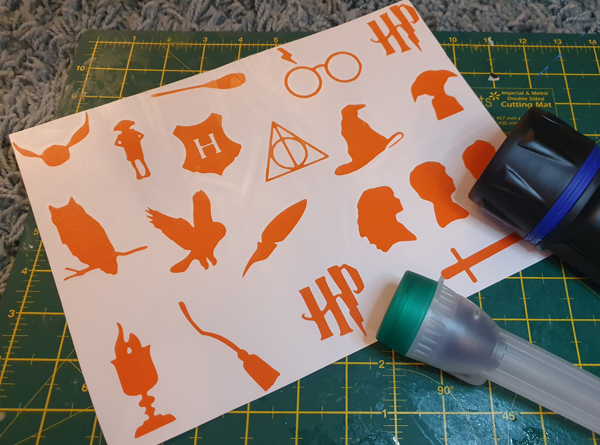 Harry Potter Decal Stickers