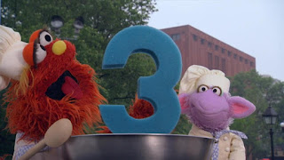 Murray Ovejita Number Cook off 3, Sesame Street Episode 4306 The Letter G Song
