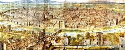 Pintura de la ciudad de Valencia, en la época del relato.