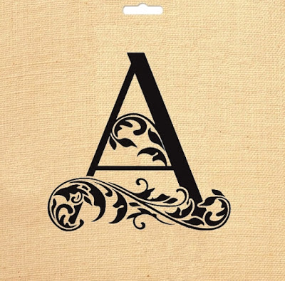 Moldes Para Artesanato Letras Do Alfabeto Vintage Com Arabescos