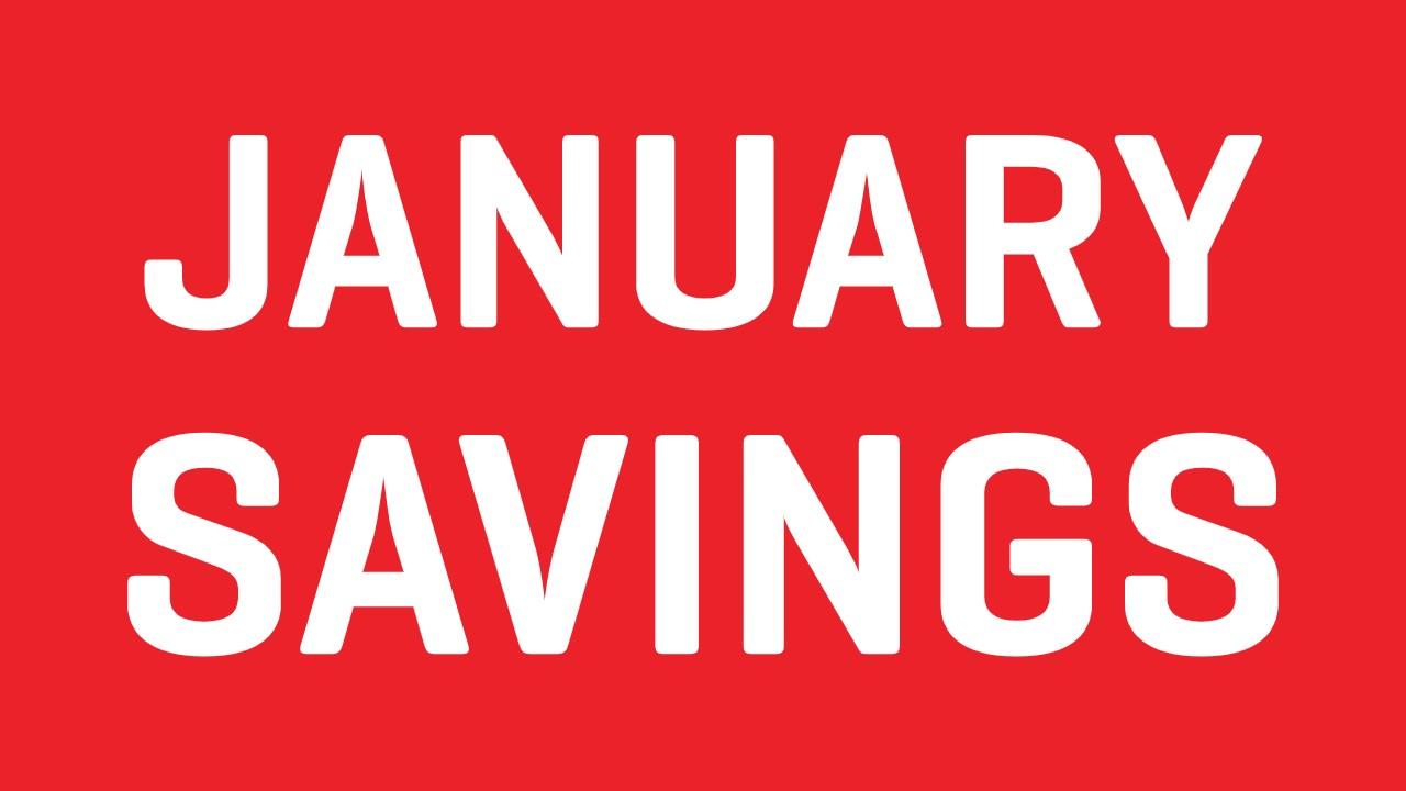 January Savings at FunBikes