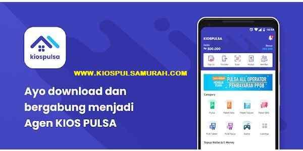 KIOS Mobile Topup, Download Kios Pulsa APK Android Jual Pulsa Paling Murah