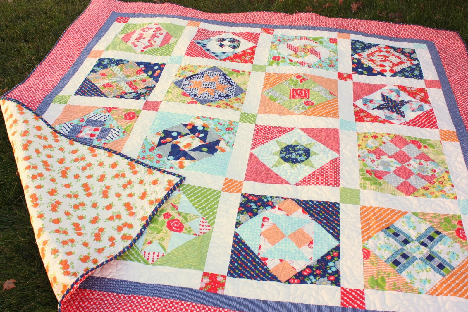 How to Finish and Bind a Quilt - Diary of a Quilter - a quilt blog : finishing quilt - Adamdwight.com