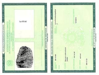Prazo para emissão de novos documentos de identificação por prazo de validade ou alteração de estado civíl será reduzido