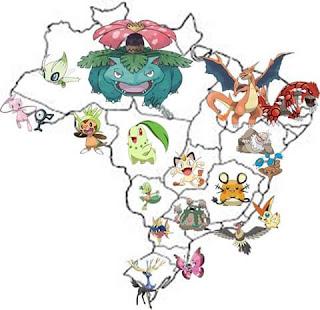 Pokémon go no Brasil - Bulbassauto