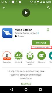 google play te mostrara una etiqueta que indica si la aplicacion tiene anuncios
