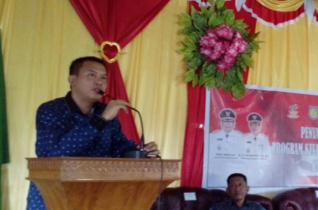 Basli : Jangan Bermain Diranah Politik, Jika Bicara Pelayanan Masyarakat