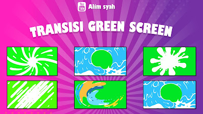 Download Transisi Video Green Screen Mirip Calon Sarjana