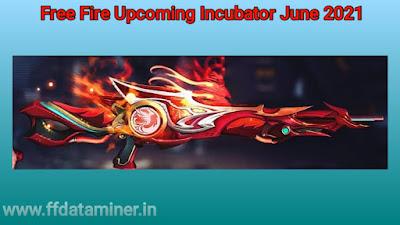 Free Fire Incubator Gun Skin