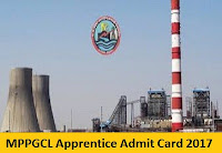 MPPGCL Apprentice Admit Card