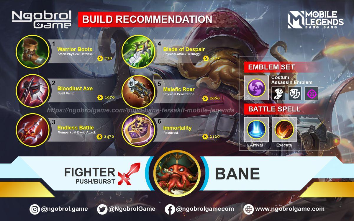 Build Bane Top Global Tersakit Mobile Legends