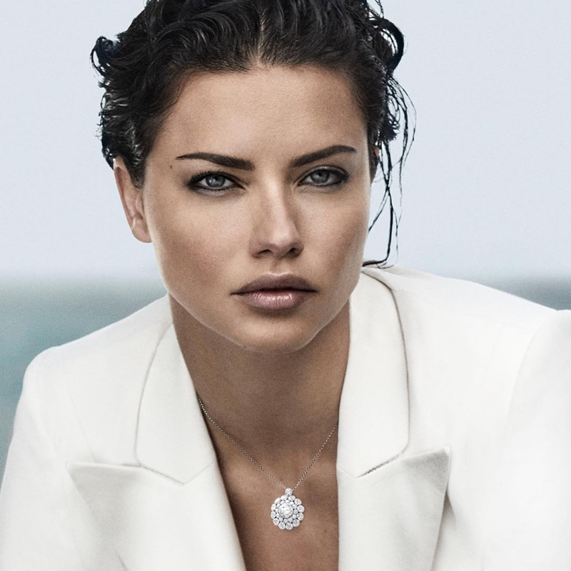 Chopard enlists Adriana Lima as the face of its Magical Setting campaign