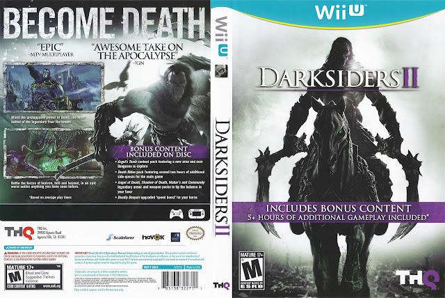 Capa Darksiders 2 Wii U