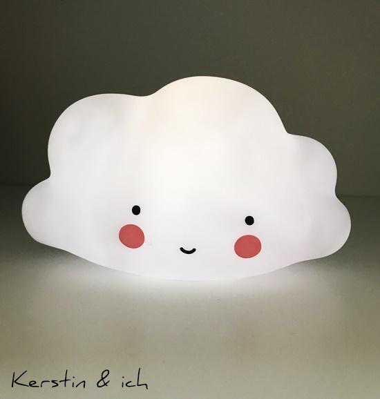 Kinderzimmer Junge Wolkenlampe