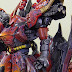 "Custom Build: MG 1/100 Sazabi Ver. Ka ""Fire Sazabi"""
