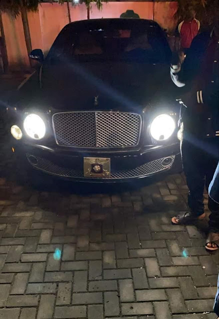Olu of Warri designate acquires a brand new Rolls-Royce and Bentley for his coronation (Photos)