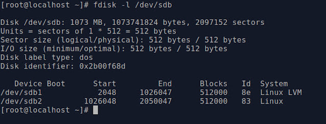 disk and partition manage monitoring command
