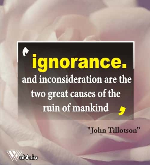 John-Tillotson-ignorance-quotes