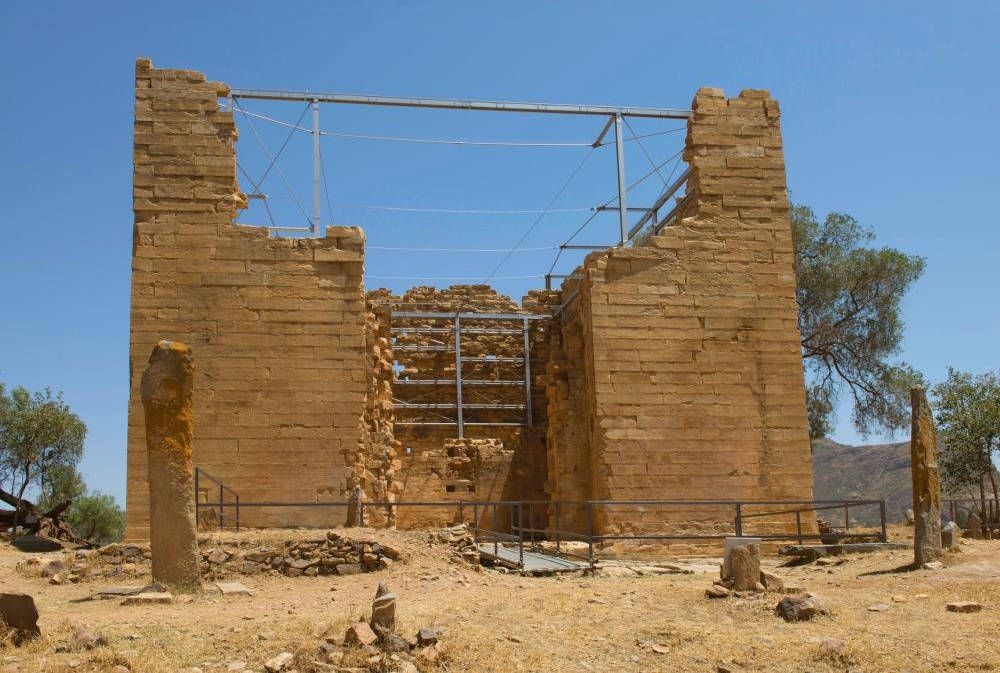 Restoration of 2,700 year old Ethiopian temple completed