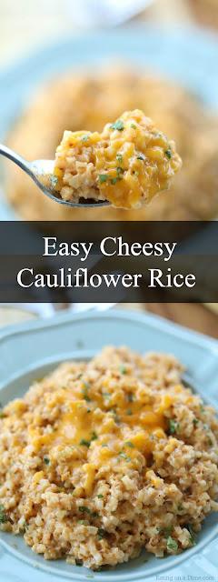 Easy Cheesy Cauliflower Rice Recipes