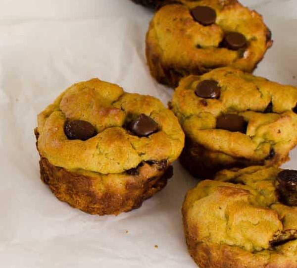 Avocado Banana Muffins #healthysnack #diet