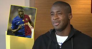 Manchester City Legend Yaya Toure reveals plan to take up coaching role at Barcelona
