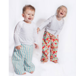 Kids' flannel pyjamas