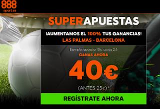 888sport supercuota el Las Palmas vs Barcelona 1 marzo